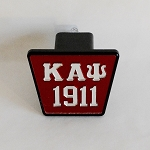 Kappa Alpha Psi Mirrored Trailer Hitch Cover