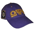 Omega Psi Phi  Embroidered Cap