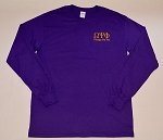 Omega Psi Phi  Embroidered Long Sleeve Tee