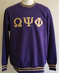 Omega Psi Phi Crew Neck with Embroidery