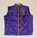 Omega Psi Phi  Embroidered Vest