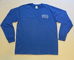 Phi Beta Sigma Embroidered Long Sleeve Tee