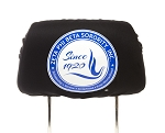 Zeta Phi Beta Car Headrest Cover