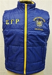 Sigma Gamma Rho Vest with embroidery