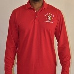 Kappa Alpha Psi Long Sleeve Krimson Polo