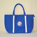 Zeta Phi Beta Large Canvas Bag