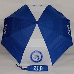 Zeta Phi Beta Folding Vented Umbrella