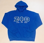 Zeta Phi Beta Embroidered Hoodie