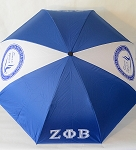 Zeta Phi Beta Reverse Umbrella