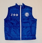 Zeta Phi Beta Embroidered Vest