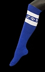 Zeta Phi Beta Designer Knee Socks